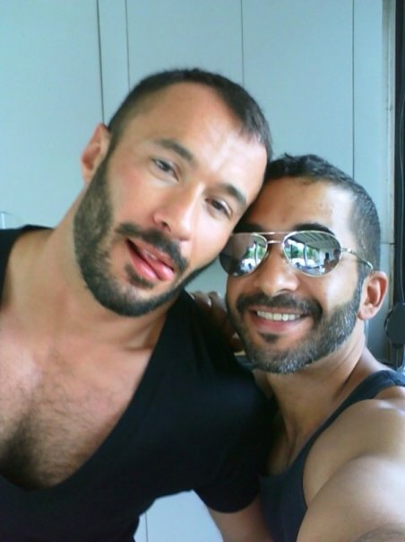 Sexy Mike Dreyden and me in Fire Island 75